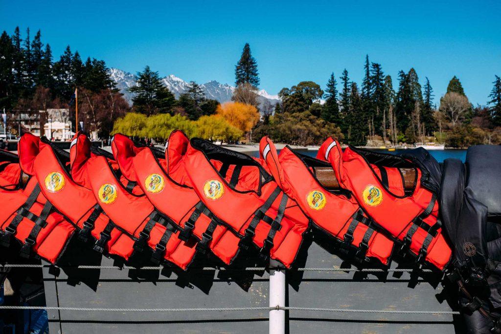 Jet boat life jackets