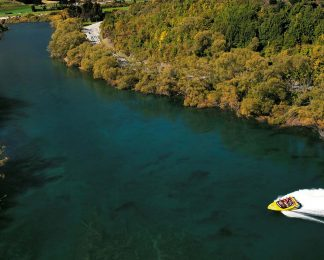 KJet, Jet Boat, Queenstown, Kawarau River, Shotover River, Lake Wakatipu, New Zealand, 360 spins