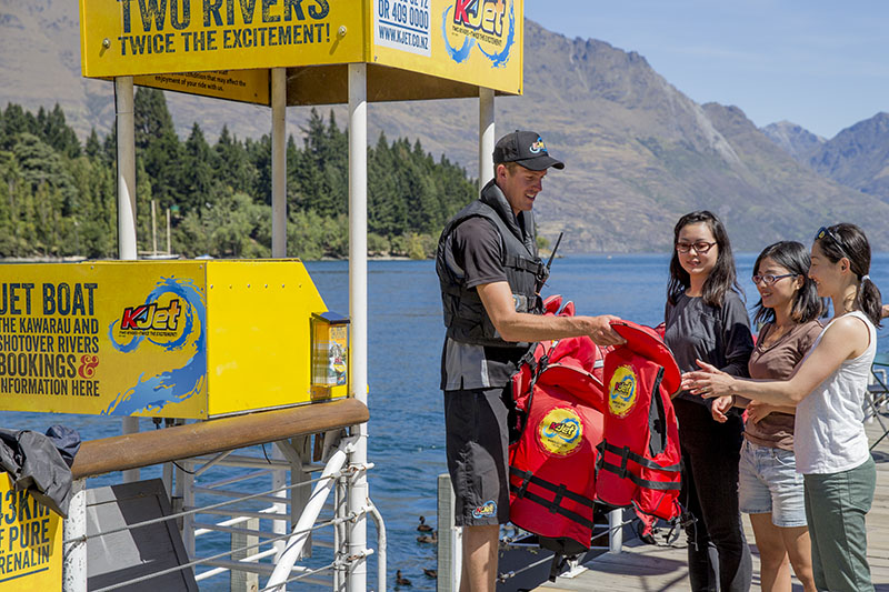 KJet, Jet Boat, Queenstown, Kawarau River, Shotover River, Lake Wakatipu