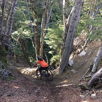 Indri Clendon, Queenstown, Mountain Biking, KJet