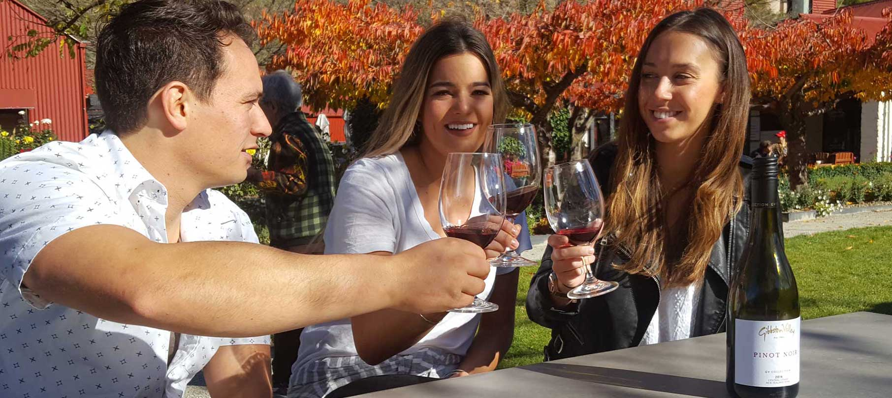 Jet Boating and wine tasting with a lunch match