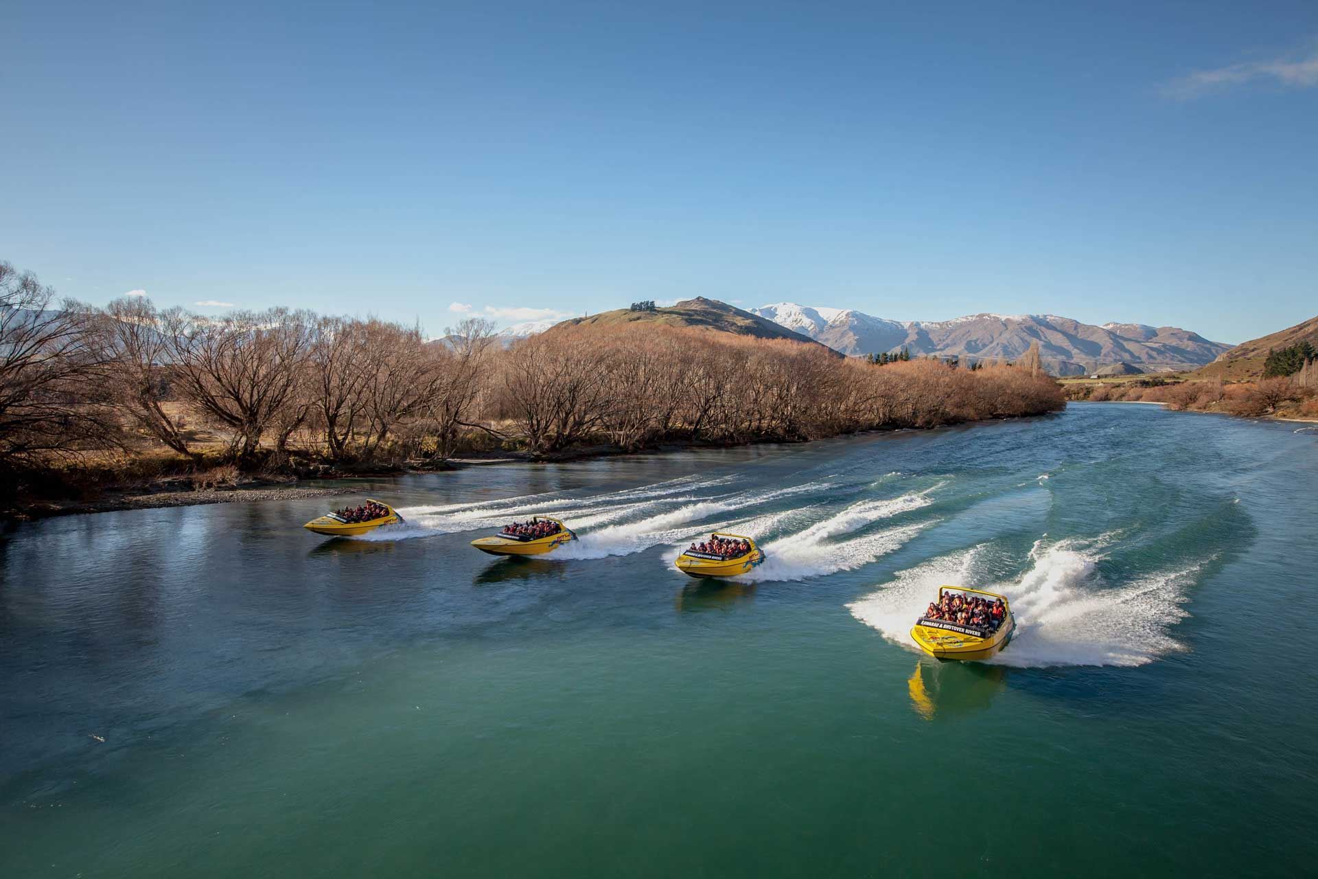 Jet Boat, Queenstown, Kawarau River, Shotover River, Conference, Incentive and Events