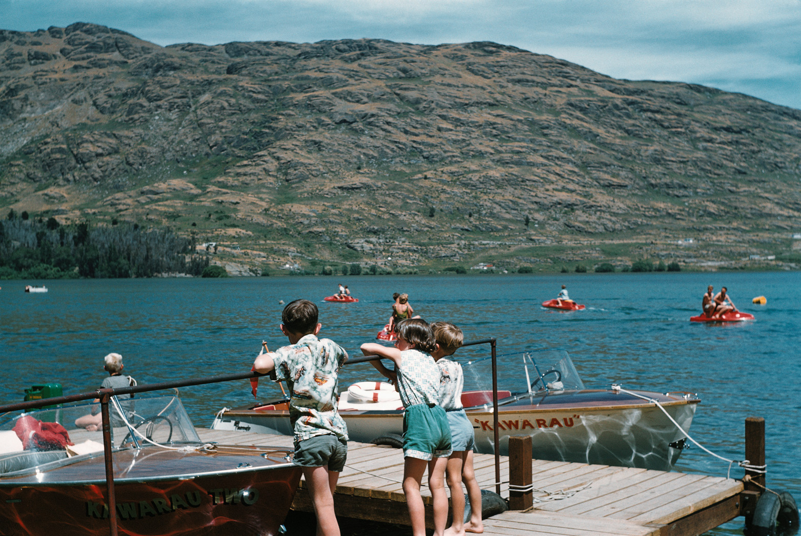 Early Days Jet boating with Kawarau Jet