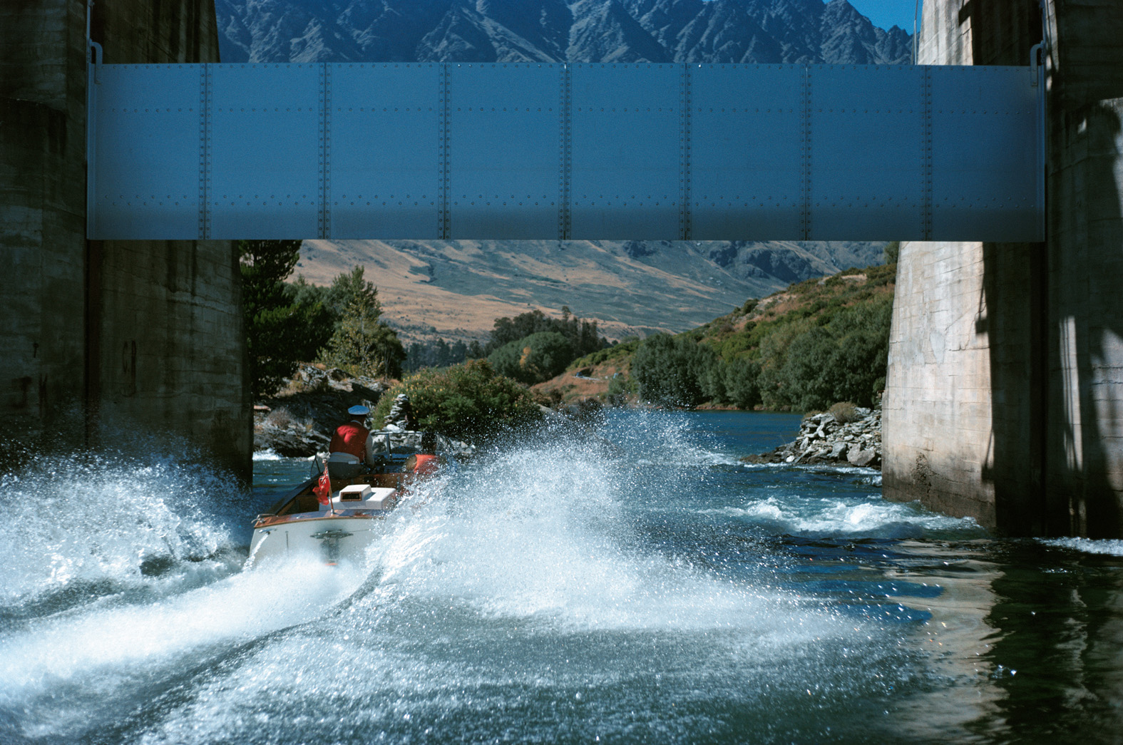 Kawarau River Bridge Dam