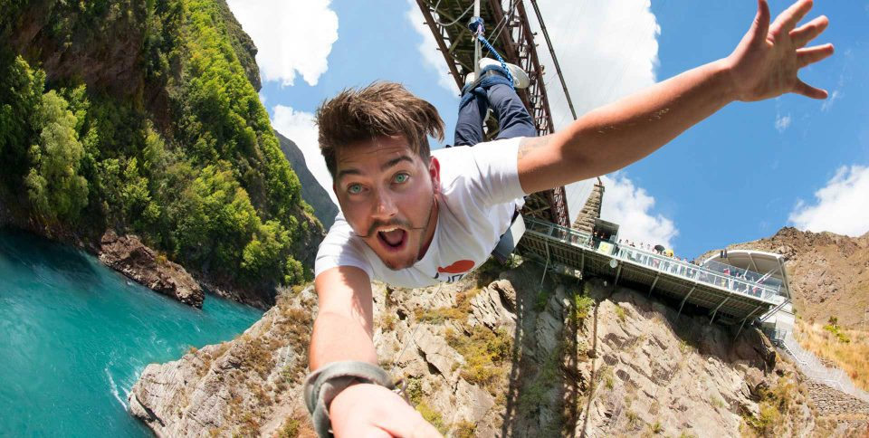 Bungy Jump, AJ Hackett, Jet Boating combos in Queenstown