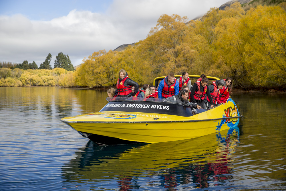 Jet Boating in Queenstown along the Kawarau River