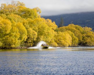 Autumn Jet Boating KJet Kawarau River Queenstown