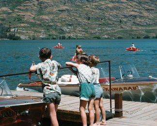historical Lake Wakatipu Kawarau Jet