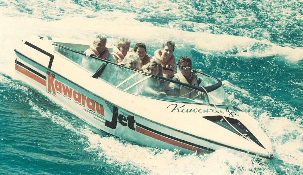 Early Jet boat 1987